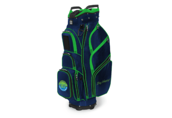 JCR TL650 Cart bag-navy lime-Nancy Lopez
