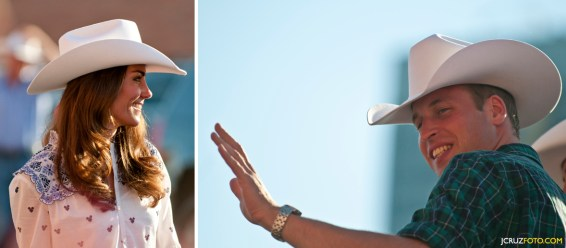 Prince William and Kate Middleton Calgary Stampede