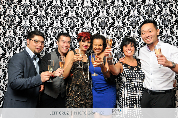 Four Points by Sheraton New Years Eve Glitz & Glam 2014 party.