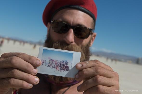 Polaroids at Burning Man?