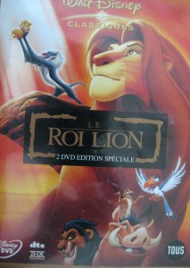 le roi lion - disney - dvd