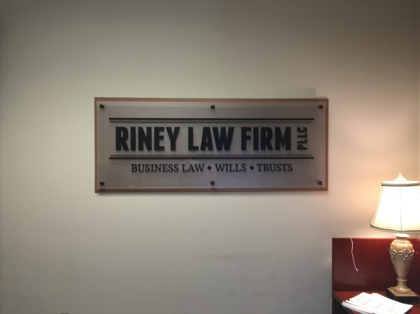 Law Office Wall Sign