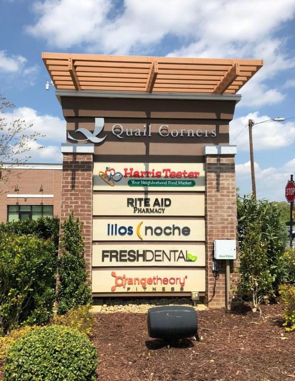 Custom Signage Brand Dental Office In Charlotte