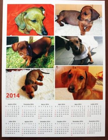 Calendário Poster1