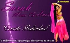 Convite Individual - 15 Anos