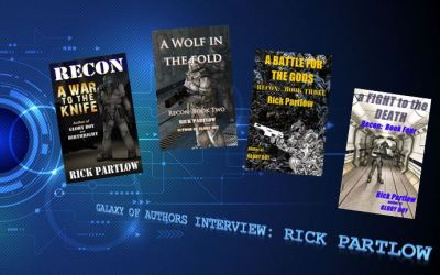 Rick Partlow, Galaxy of Authors