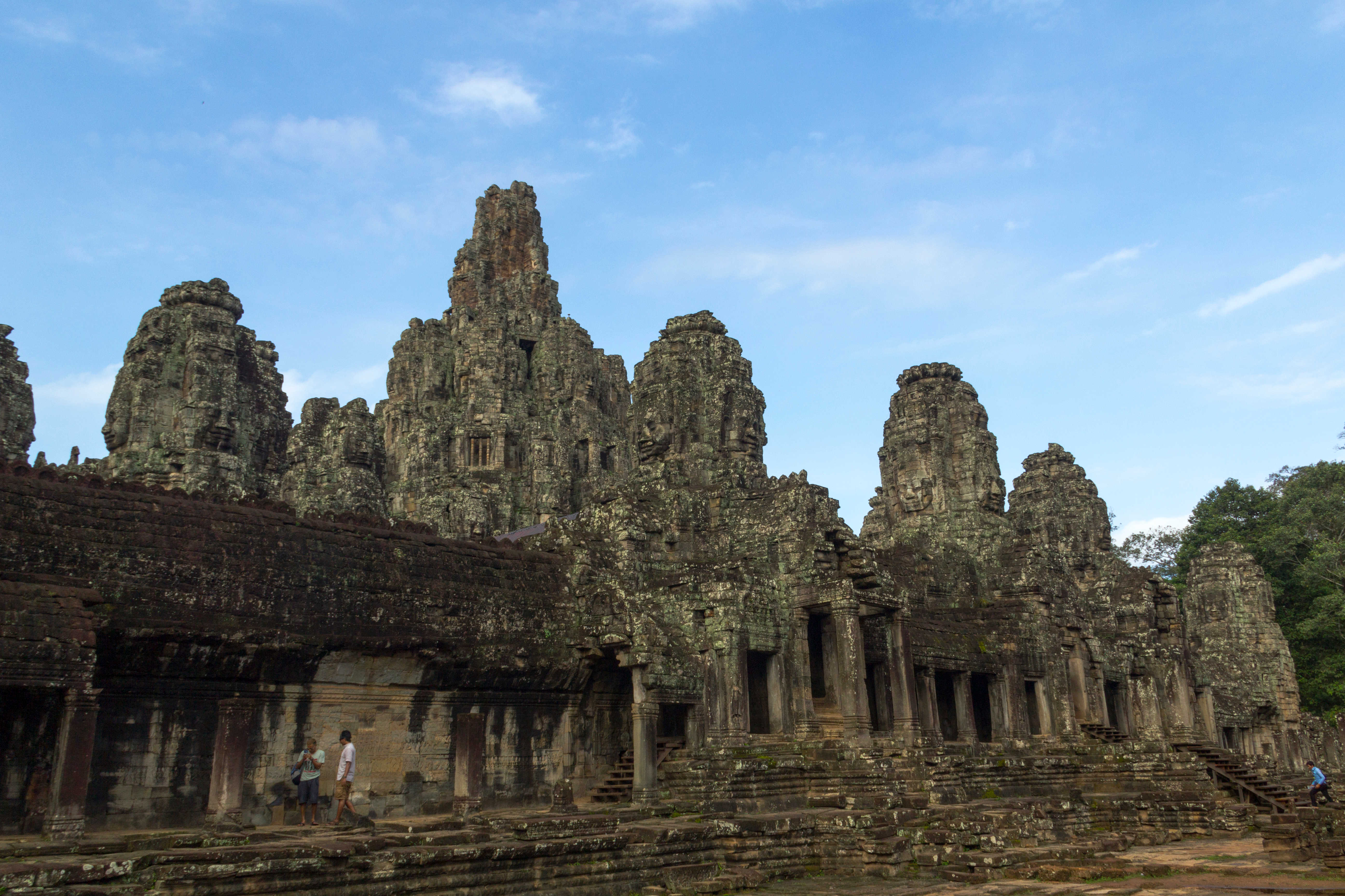 The Bayon Temple