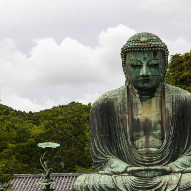 Great Buddha At Daibutsu