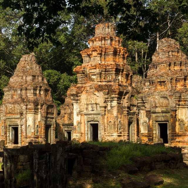 The Roluos Group - Preah Ko Temple