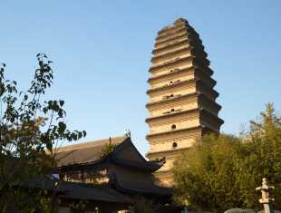 Small Goose Pagoda in Xian