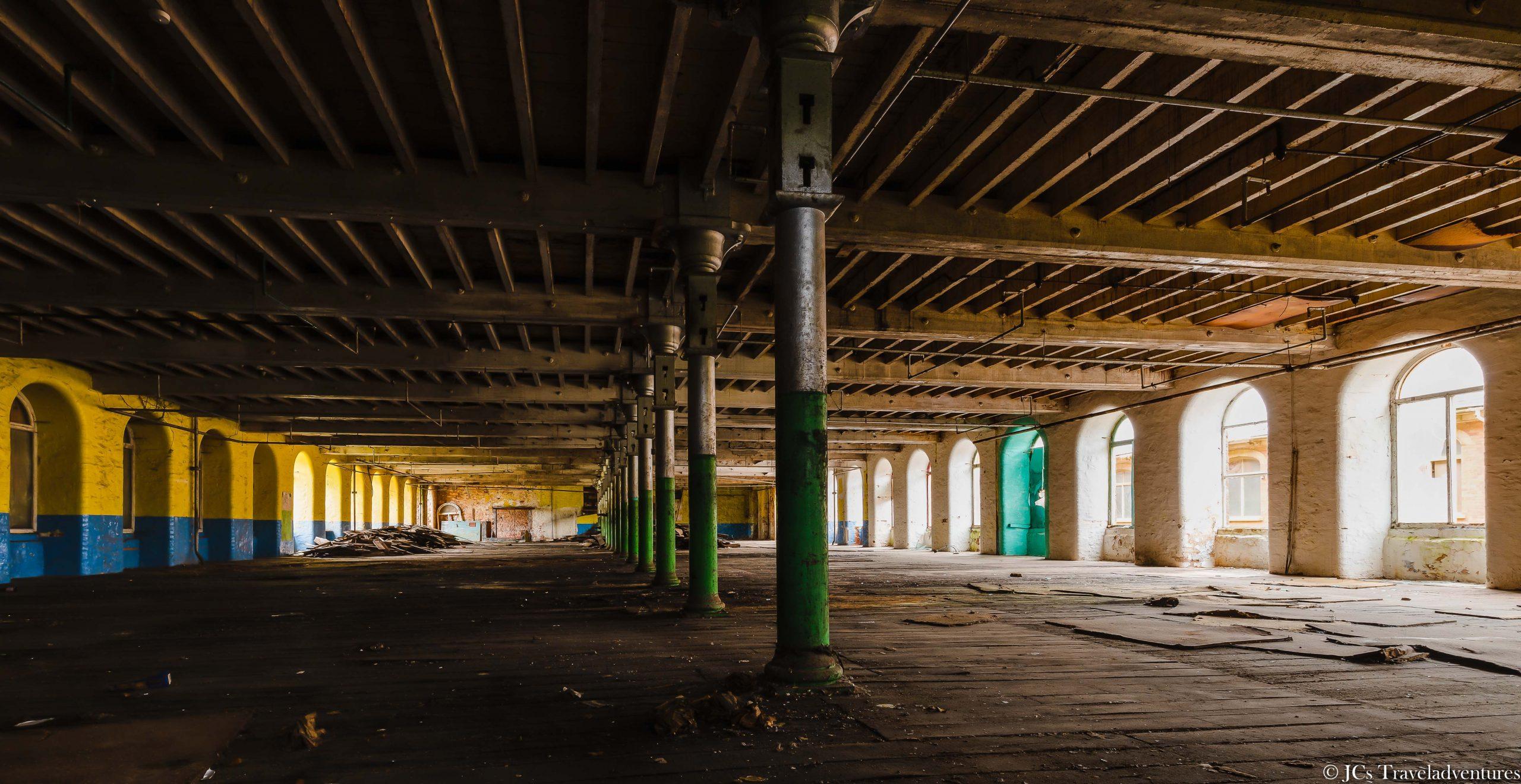 Tonedale Mill: Upper Floor