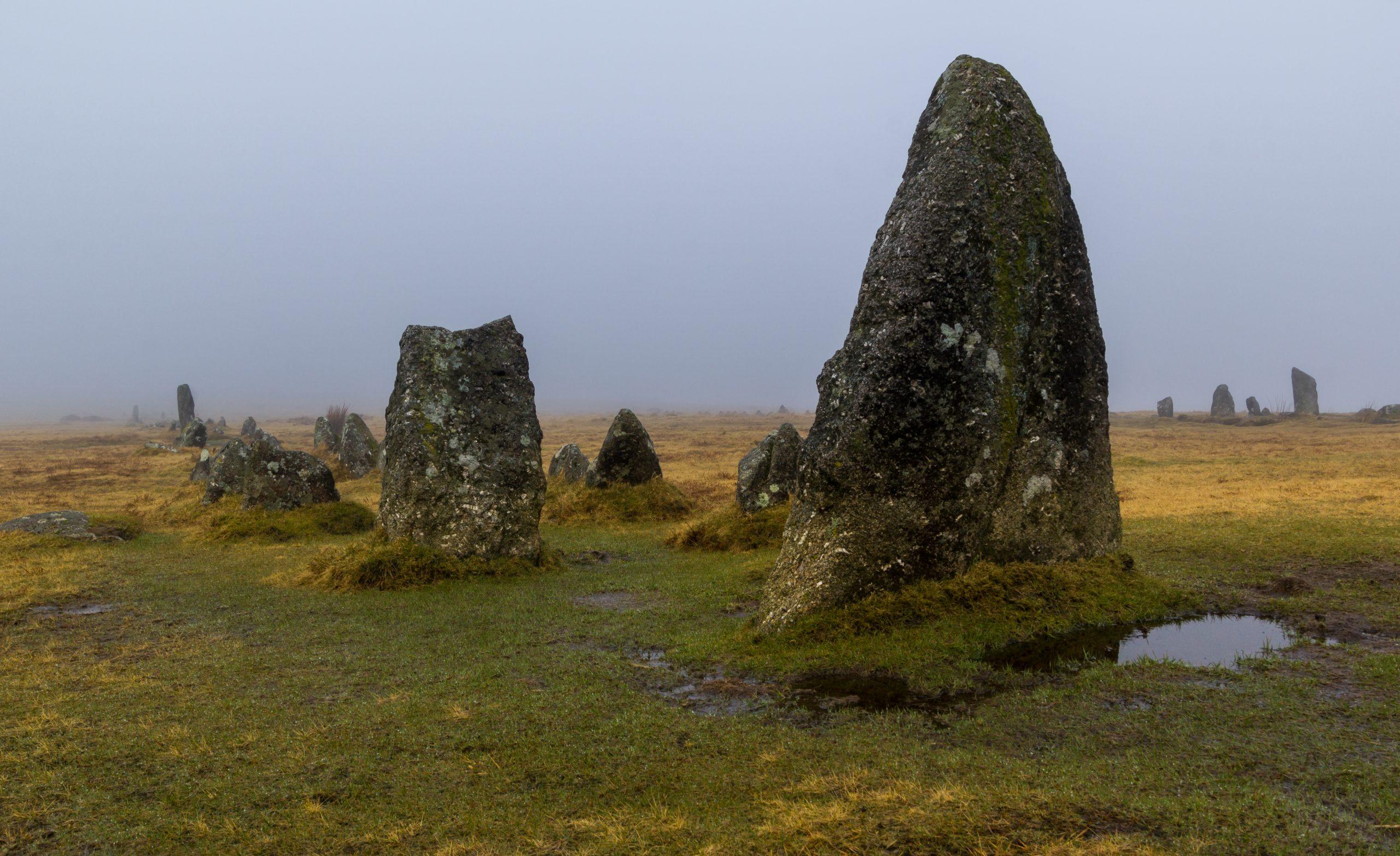 Dartmoor: Merrivale Stones
