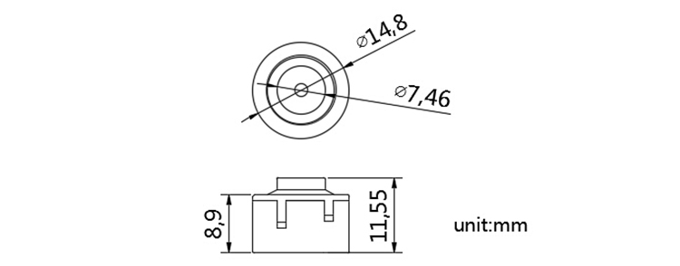 High security utility twist plastic meter seal-PRODUCTS