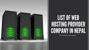 List of Web Hosting Provider Company in Nepal | Cheapest Web Hosting in Nepal