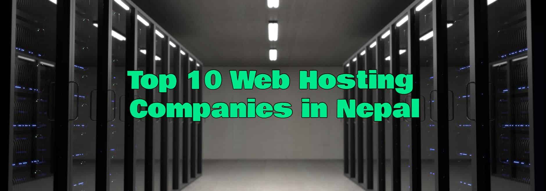 Top 10 Web Hosting Companies in Nepal | Cheapest Web Hosting in Nepal
