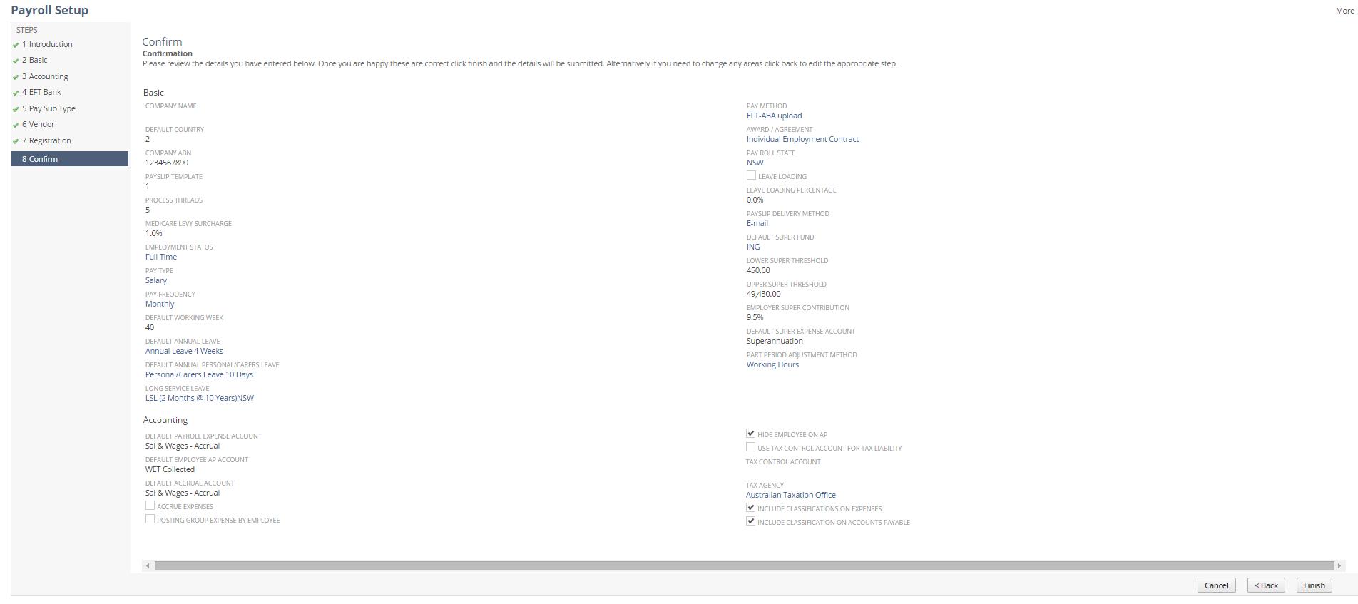 Payroll Setup & Processing Guide
