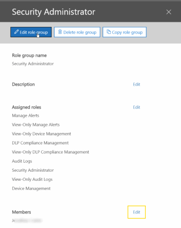 o365_permissions_edit_role_group How to create Alert Policies in Office 365 Security & Compliance Center