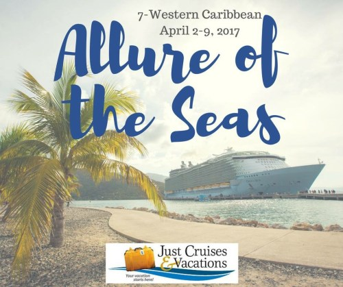 Sail with us April 2-9, 2017!