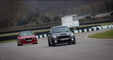 Goodwood Track Day MINI JCW BMW M3