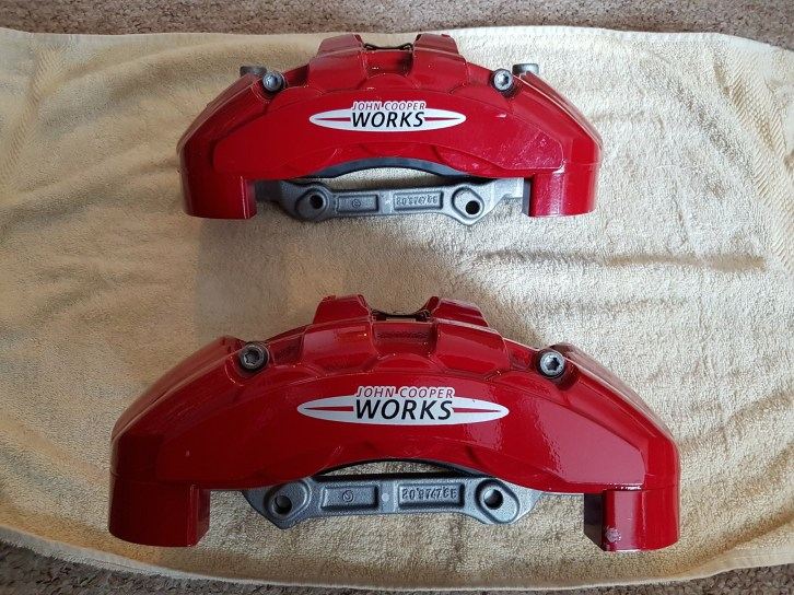MINI GP2 BRAKE CALIPERS