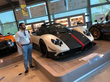 Pagani Zonda Factory Tour - Zonda Cinque Roadster