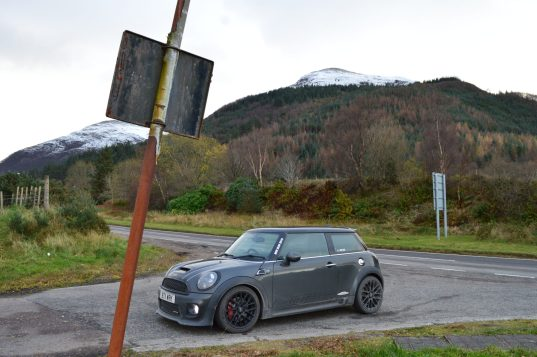 Roadtrip MINI JCW Scotland