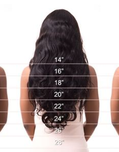 Generally straight hair is longer than wavy and curly please check out our length guide also chart jc factory rh jcwholesalevirginhair