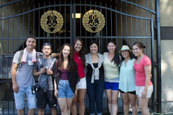 Photo of JC Young Leaders at the 38th Annual Powell Street Festival; by John Endo Greenaway
