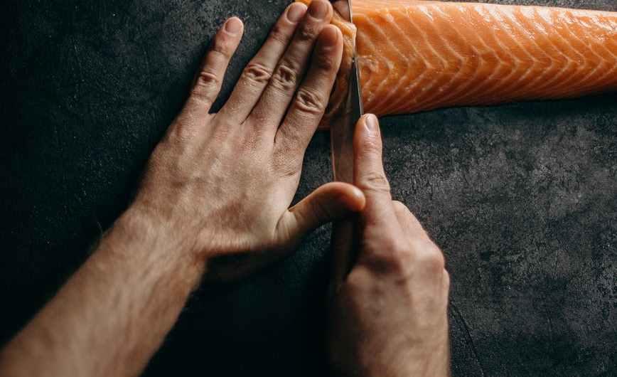 Gratin de saumon et de pommes de terre