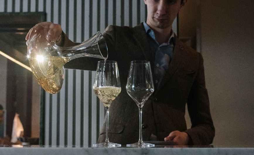 Le service du vin nature :
