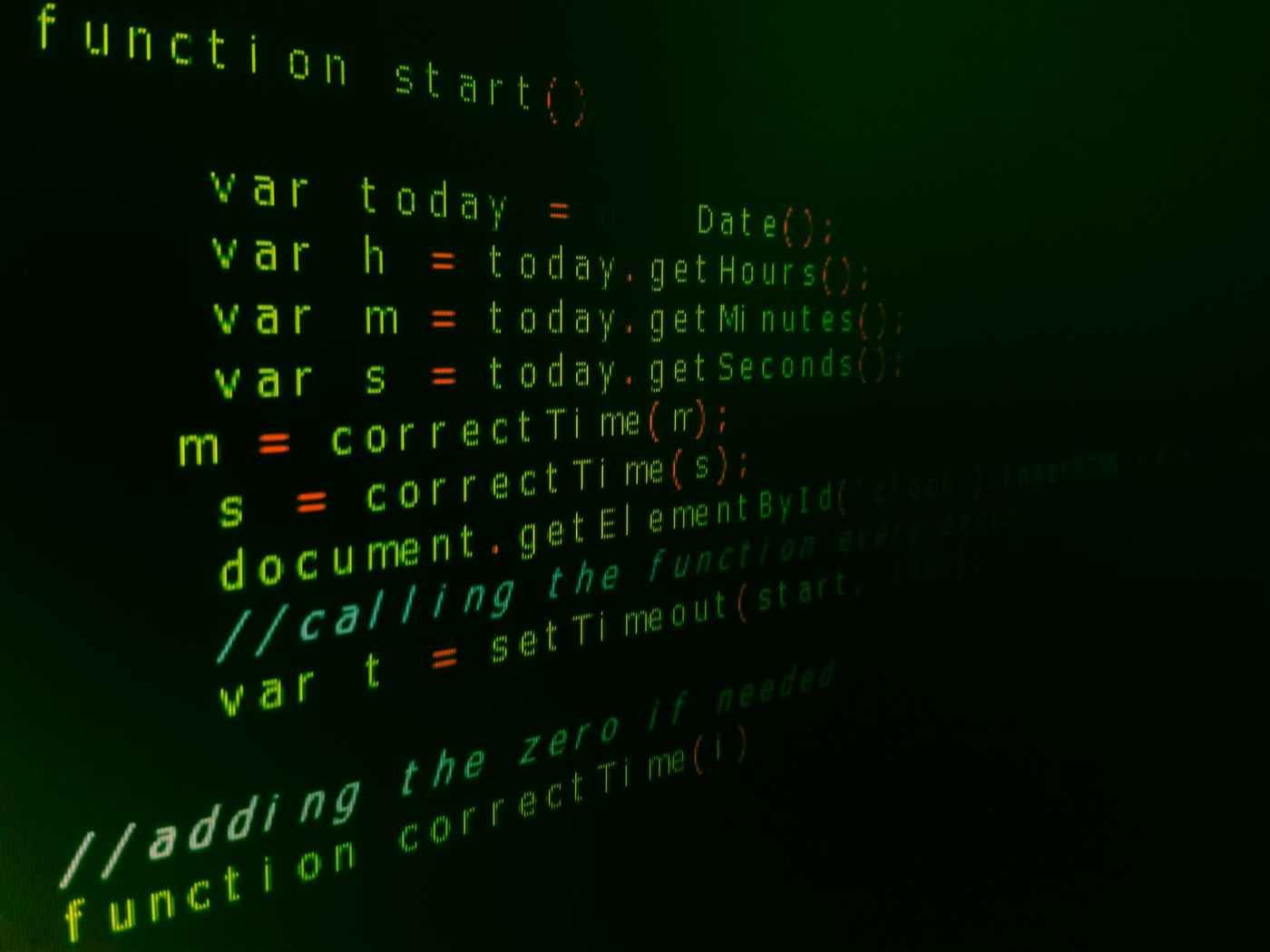 computer program language text