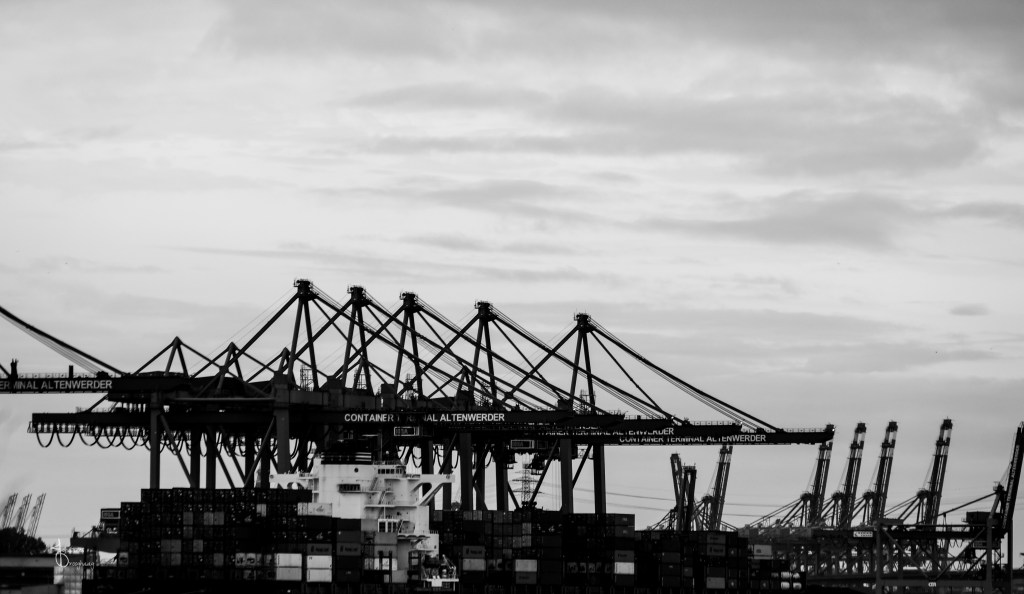 Faces of Hamburg – Cranes and docks