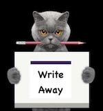 Write Away Cat - Reduced