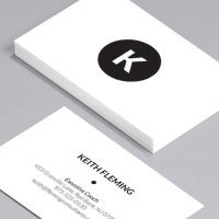 Ivory White namecard