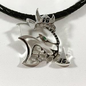 Viking Hellcat Necklace
