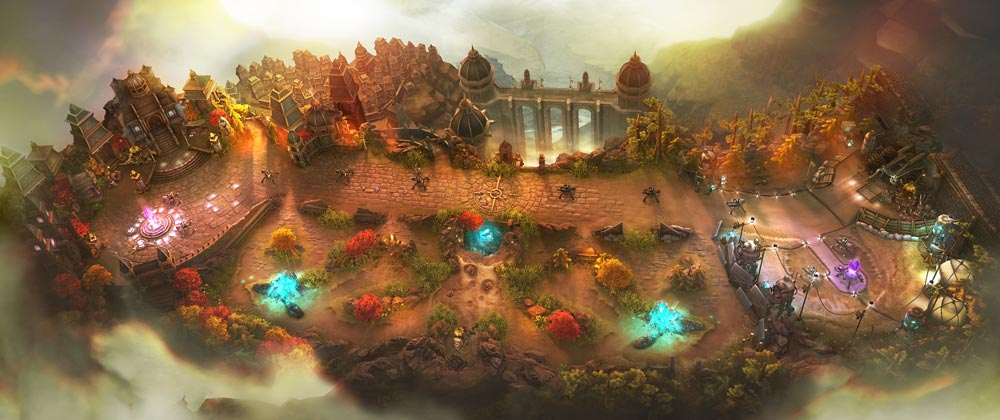 Autumn Falling Leaves Wallpapers Vainglory The Cross Platform Moba