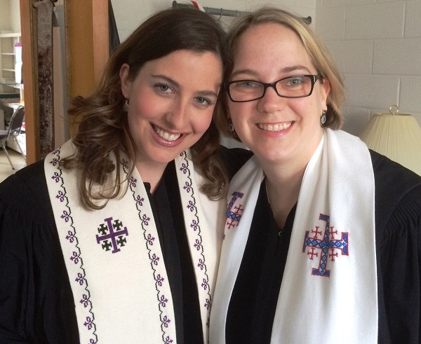 Me with the Rev. Jennifer Allen Hege, Pastor of Antioch United Methodist Church