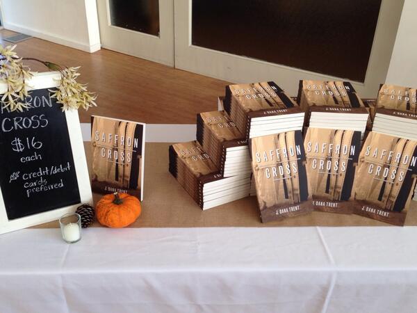 SaffronCross_BookLaunch_Table
