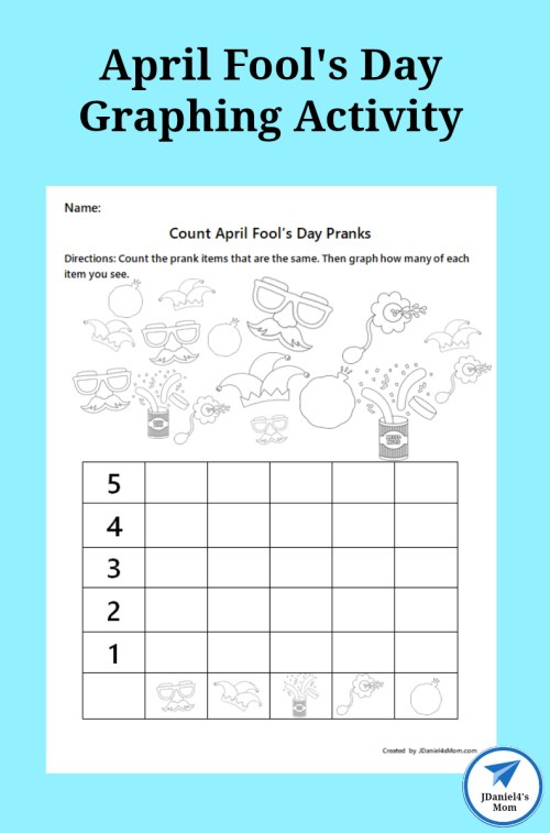 small resolution of April Fool's Day Graphing Activity - JDaniel4s Mom