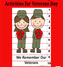 Hands-On Counting Activities for Veterans Day - JDaniel4s Mom [ 1200 x 900 Pixel ]