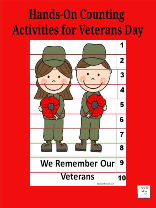 small resolution of Hands-On Counting Activities for Veterans Day - JDaniel4s Mom