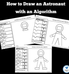 How to Draw an Astronaut with an Algorithm - JDaniel4s Mom [ 1500 x 1500 Pixel ]