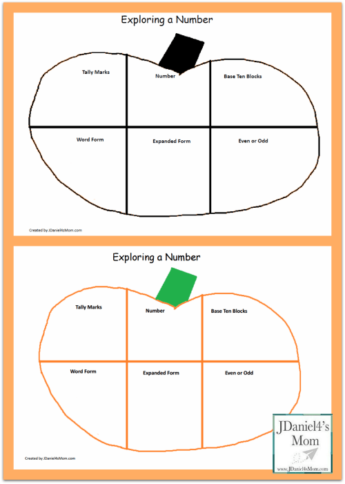 small resolution of Second Grade Worksheets - Exploring a Number