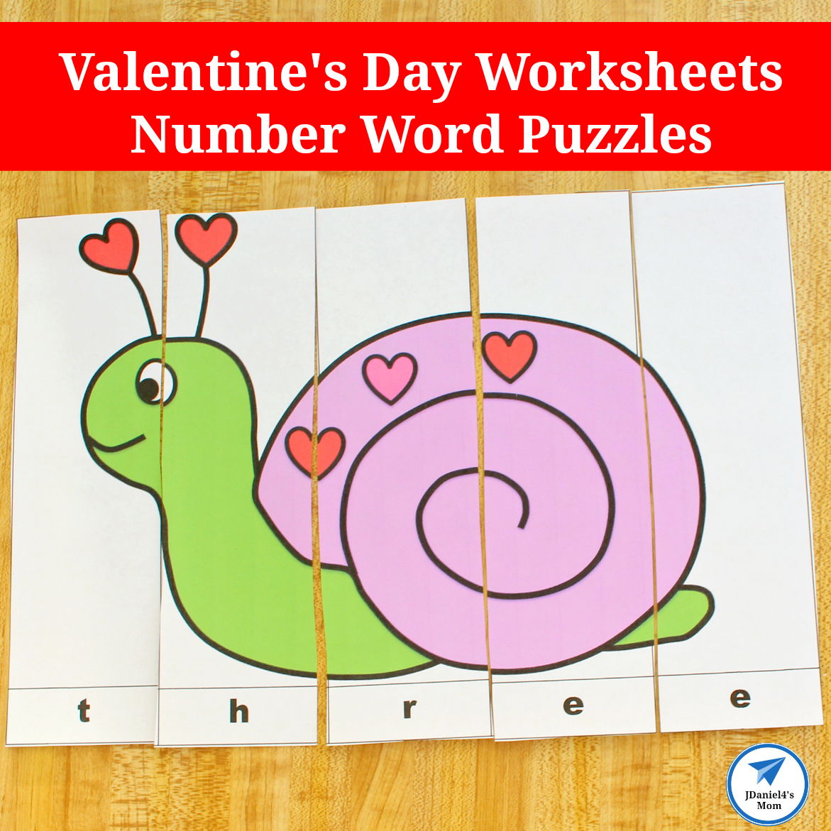 Valentine S Day Worksheets Number Word Puzzles