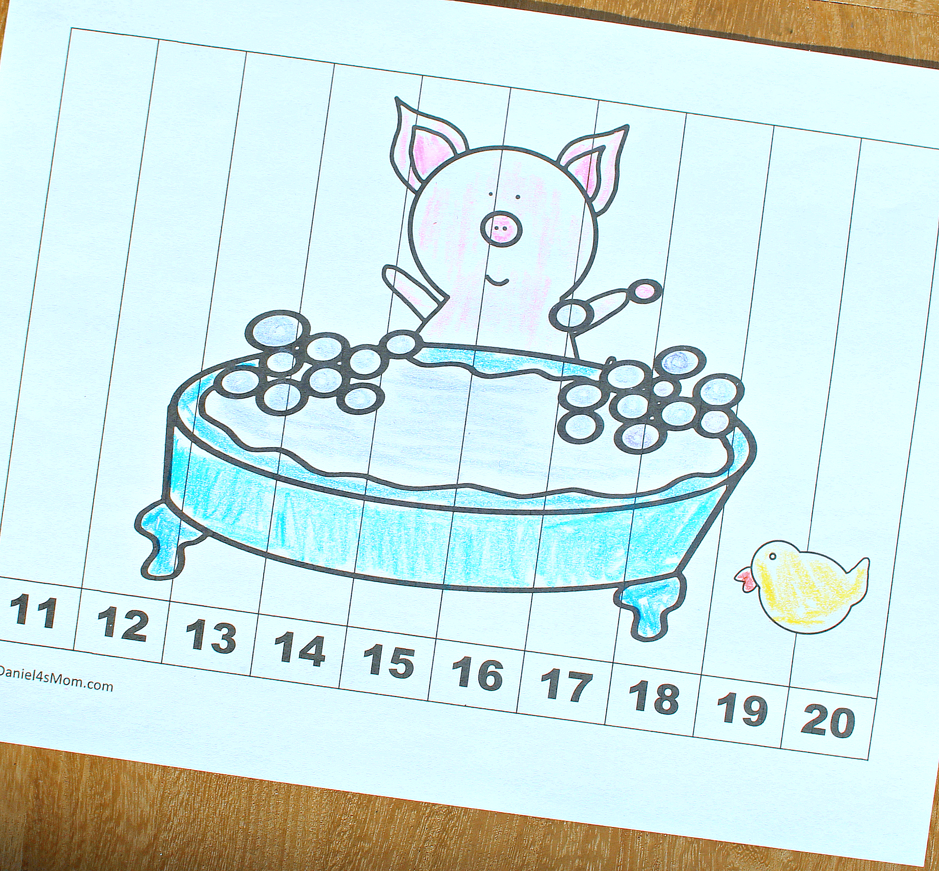 Facing Math Worksheet Pig Facing Best Free Printable