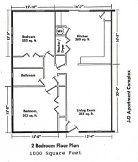 BEDROOM FLOOR PLANS | Over 5000 House Plans