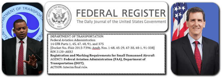 faa drone registration rules