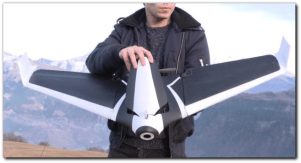 Parrot's brand new smart drone can reach speeds of 50 MPH