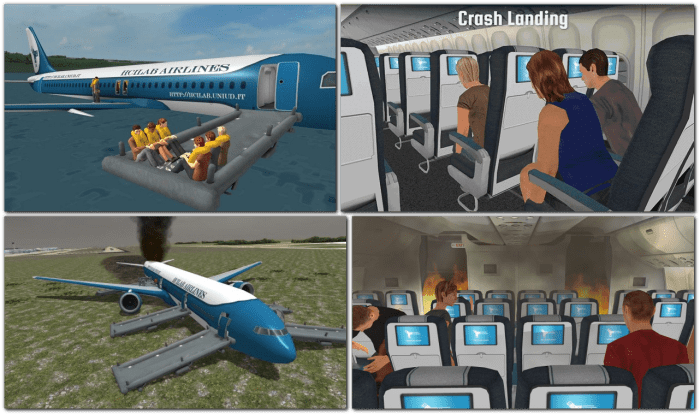 new visual tools for Aircraft Emergency Briefings
