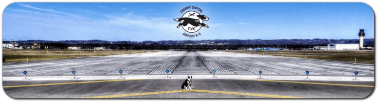 dog piper tvc airport